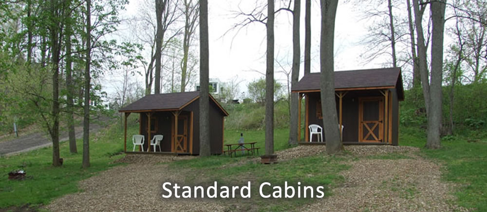 Standard Cabins exterior view