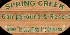 Spring Creek Campground logo